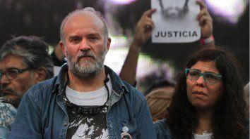 Sergio Maldonado y su esposa Andrea piden justicia por su hermano.