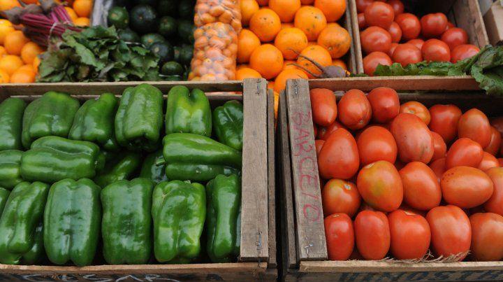 Verduras y frutas experimentaron aumentos durante octubre.