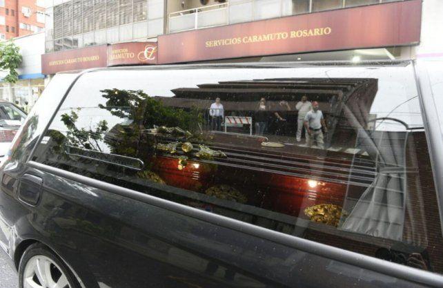 Angustia y tristeza en el último adiós a Alejandro Pagnucco en el cementerio La Piedad