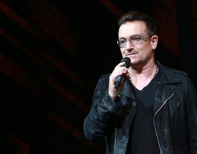 Bono, el líder de U2,  está estresado por ser investigado por paraísos fiscales en Lituania