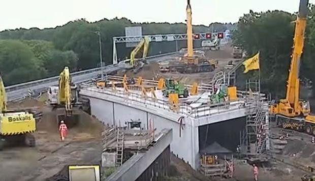 La increíble proeza de ingenieros que en solo dos días construyen un túnel