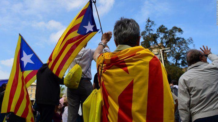 Preparan una nueva protesta en Cataluña por la libertad de los independentistas presos