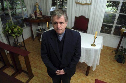 Condenado. El sacerdote está detenido desde septiembre de 2013.