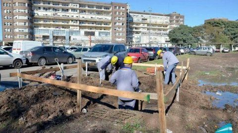 Hospital Posadas. Hallaron posibiles restos humanos en El Chalet.