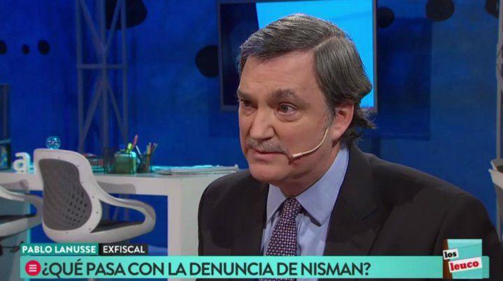 El kirchnerismo mató a Nisman, dijo Pablo Lanusse