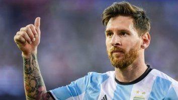 la promesa de lio messi si argentina sale campeon en rusia