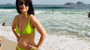 maria laura santillan se mostro en bikini como nunca antes