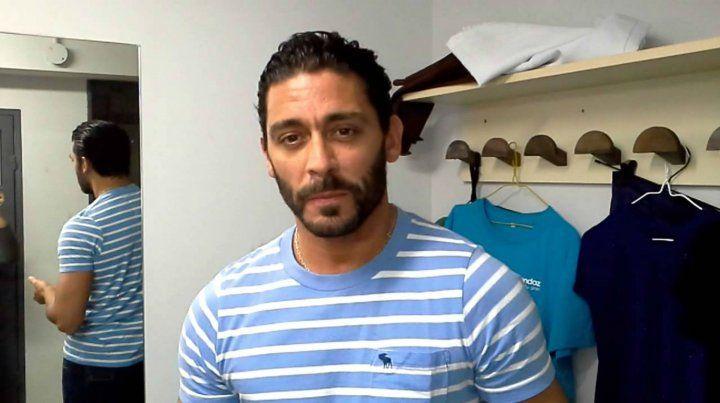 Atacaron a tiros a Hernán Piquín en un intento de asalto