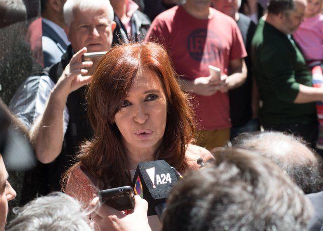 Cristina pidió a la militancia que no se llegue a Comodoro Py
