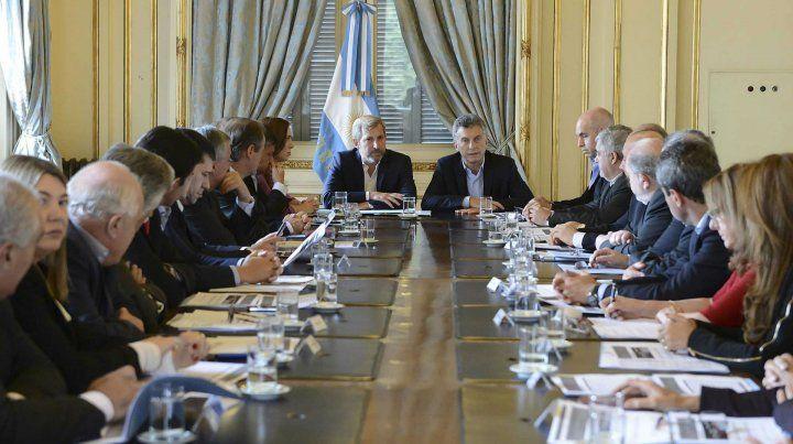 Macri recibe este mediodía a los gobernadores.
