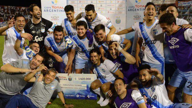 A dos pasos. Atlético Tucumán está por primera vez en su historia en semifinales