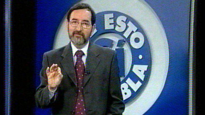 El periodista Jorge Brisaboa