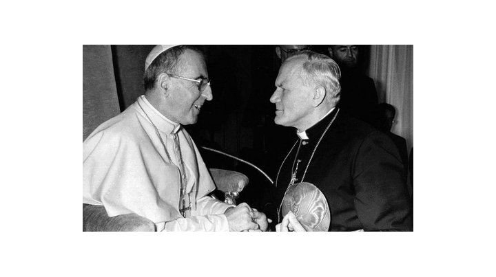 el papa de septiembre. Albino Luciani