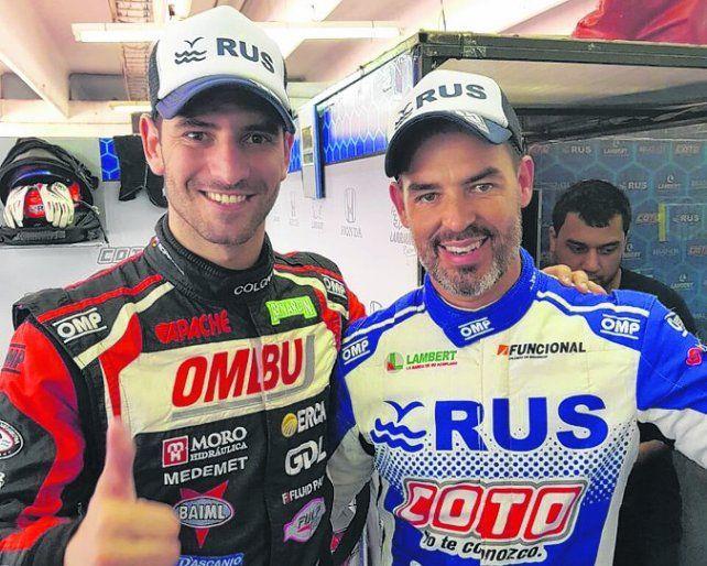 Bárbaro. El rosarino Pedro Boero llevó 4º al Focus del Martos Med. Lo correrá el Gurí Martínez en la primera final.