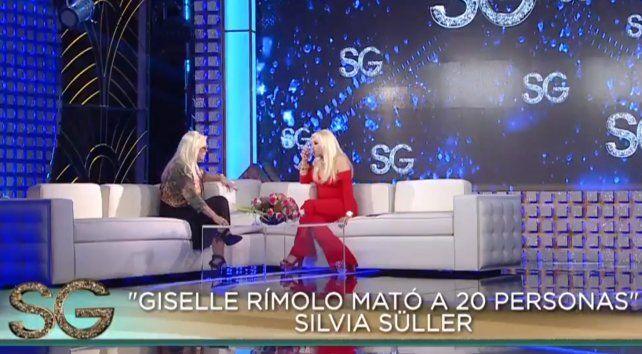 Silvia Süller aseguró que  Giselle Rímolo mató a 20 personas en nueve años