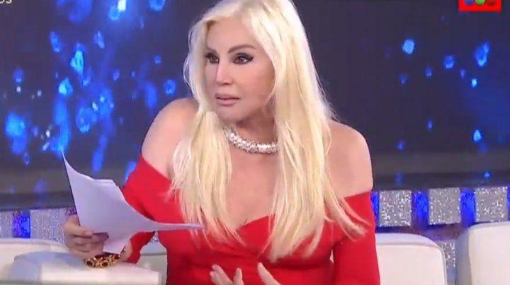 Susana reveló que terminó internada en la clínica Fleni por culpa de Giselle Rímolo