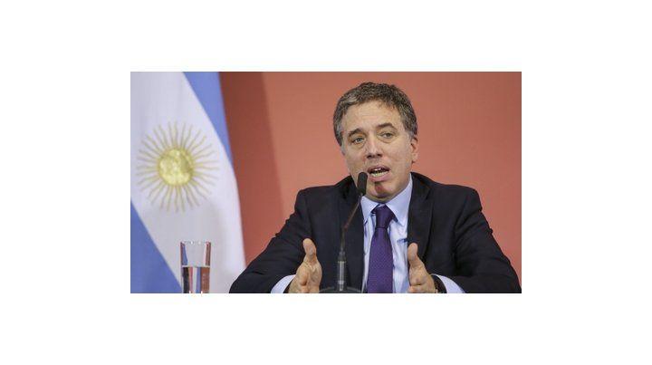 Objetivos. El ministro Dujovne dijo que las medidas apuntan a promover la inversión y los empleos de calidad.