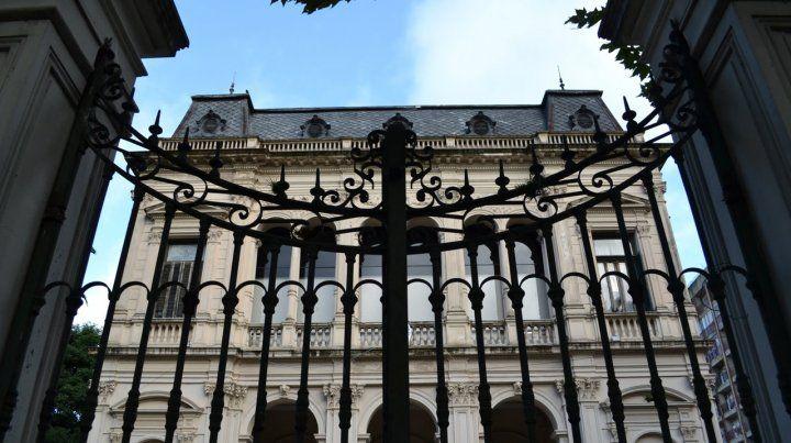 El edificio de calle Oroño de Tribunales Federales.