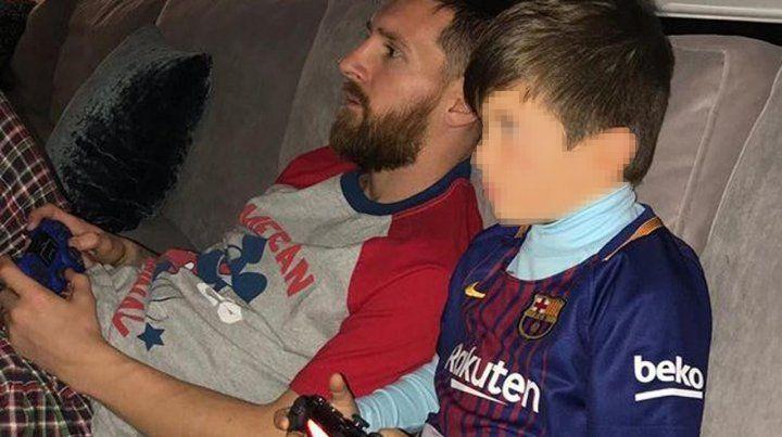 Leo y su hijo vencen a Real en la play