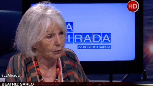 Sarlo acusó a Carrió de chantajear a Macri y la tildó de narcisista