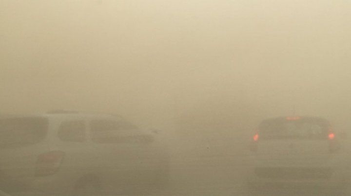 La autopista a Santa Fe fue cortada por las condiciones climáticas adversas