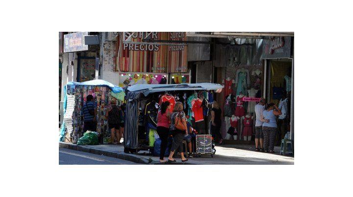 en la mira. El segmento de calle San Luis que va desde Dorrego hasta San Martín está en jaque por las mecheras.