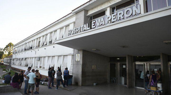 La víctima quedó internada en el Hospital Eva Perón de Baigorria.