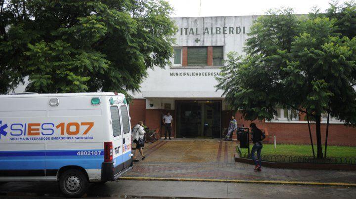 El Hospital Alberdi. Las dos víctimas fueron derivadas a ese nosocomio.