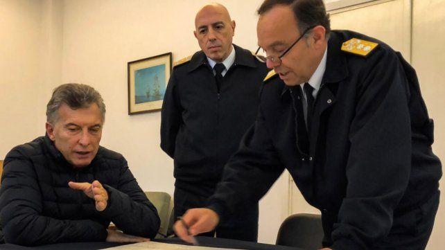 Seguimos haciendo todo para encontrarlos lo antes posible, dijo Macri