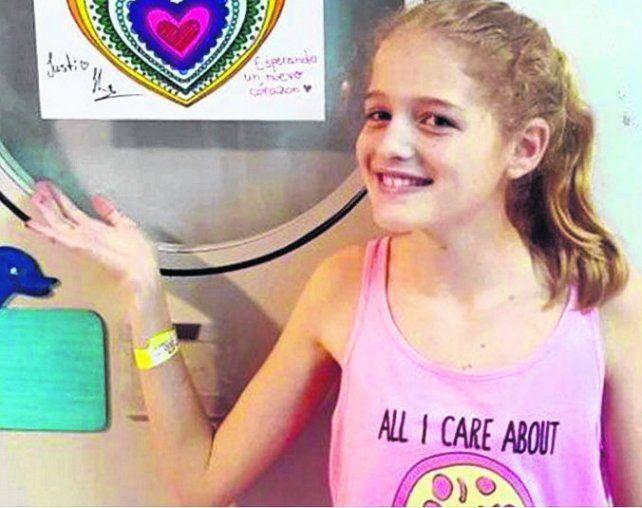Justina Lo Cane. De 12 años. No podemos parar de llorar
