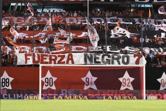 Fuerza Negro. El club comunicó oficialmente lo recaudado para Julio Zamora.