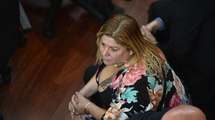 Lorena Verdún llegó a este juicio en libertad.