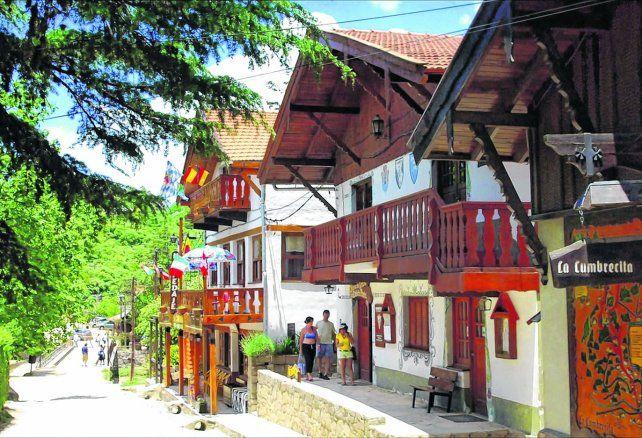 Con aires de Europa Central. La Cumbrecita es considerada como la más típica y representativa aldea de montaña que posee la provincia de Córdoba