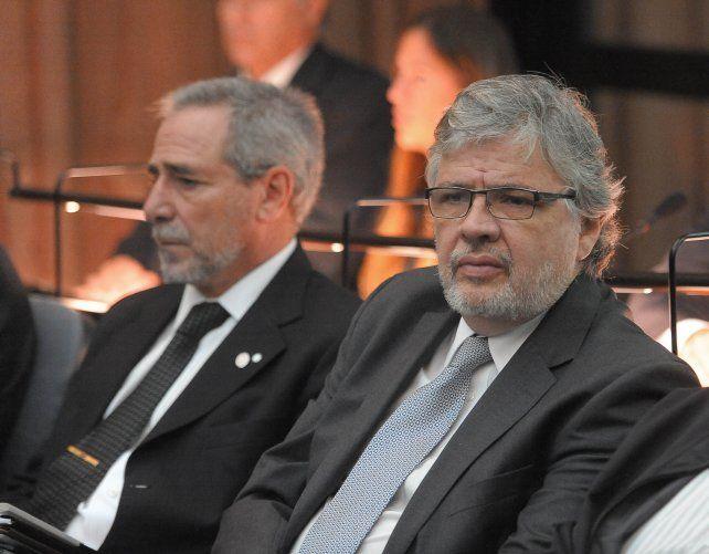 Ricardo Jaime y Juan Carlos Schiavi