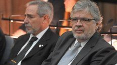 Ricardo Jaime y Juan Carlos Schiavi, los exsecretarios de Transporte kirchneristas.