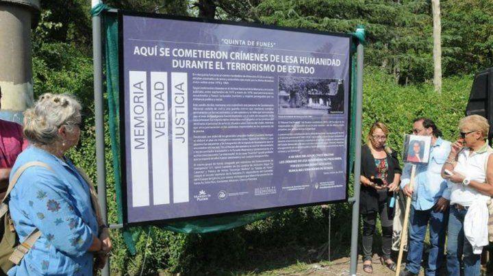 La Quinta de Funes quedará habilitada mañana como espacio de la memoria
