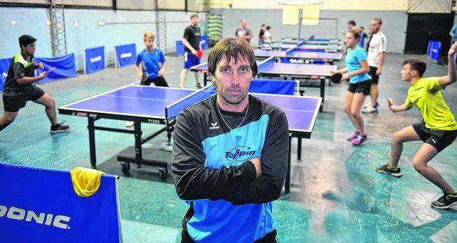 A puro juego. Damián Rajmil asegura que hay varias promesas locales en este deporte olímpico.