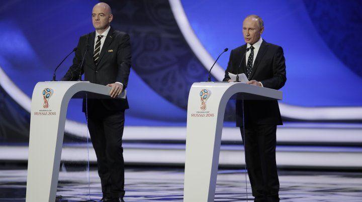 El presidente de la Fifa