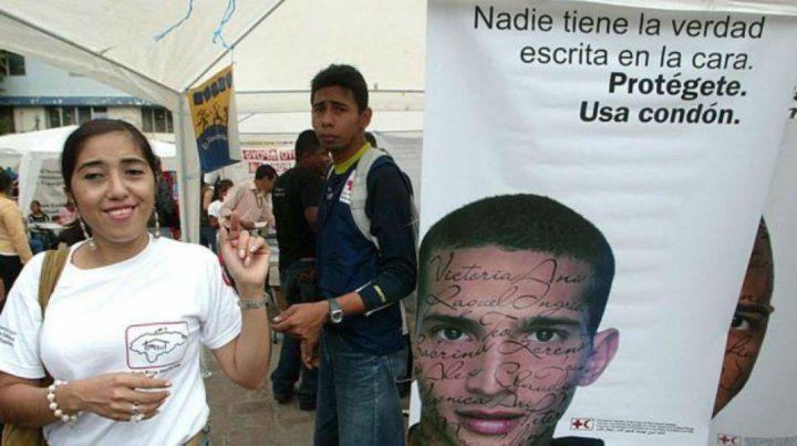 Campaña. Postal de acciones desplegadas durante una jornada de difusión pública en Honduras.