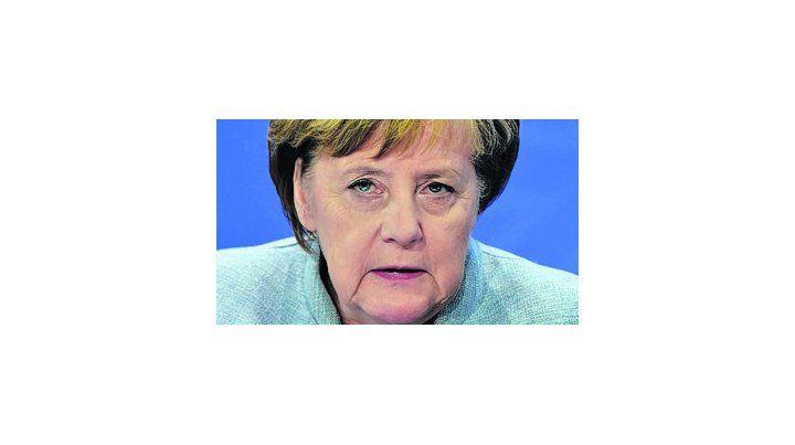 La eterna canciller alemana.