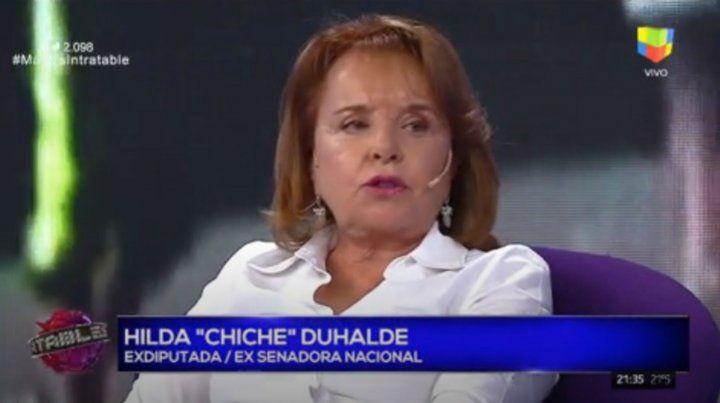 Chiche Duhalde pidió una ley que frene el ingreso de estatales