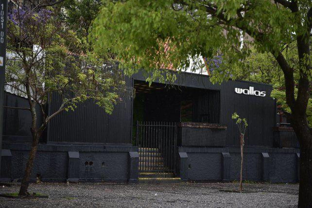La imagen del local donde se registró el incidente en la madrugada del 5 de noviembre.