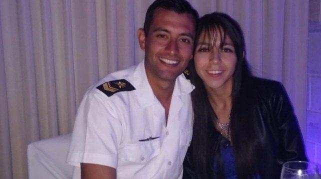 El dolor de la novia de uno de los tripulantes del ARA San Juan