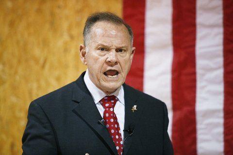 Sospechado. El ex juez Moore fue acusado por dos mujeres.