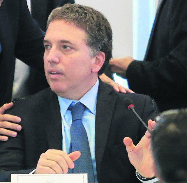 Confiado. Dujovne analizó con diputados oficialistas aspectos del ajuste.