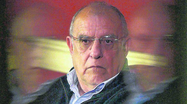 El presidente. Eduardo Bermúdez es la cara visible de una comisión directiva atomizada por las diferencias internas.