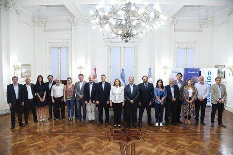 el nuevo gabinete. El equipo que acompañará a Mónica Fein hasta 2019 buscará imprimir una política de mayor proximidad.