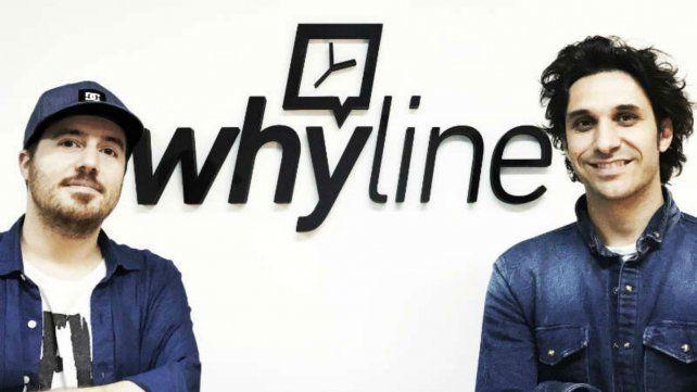 Los creadores de whyline.