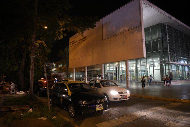 Reclamo. Taxistas fueron al Heca tras el ataque a una conductora.