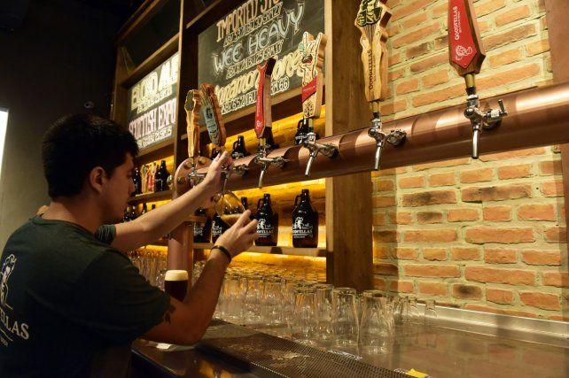 Goodfellas. El creador de esta cerveza tiene sólo 26 años. Su marca ya comercializa franquicias.